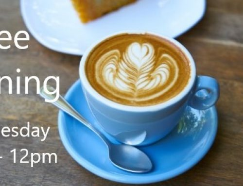 Weekly Wednesday Coffee Morning