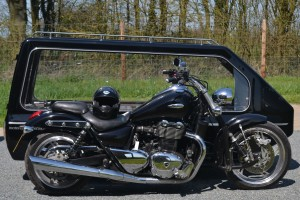 Motorcycle hearse 2