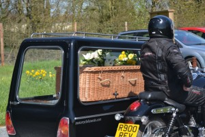 Motorcycle hearse 4