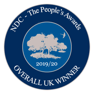 NDC Overall UK Winner 2019-2020 Badge