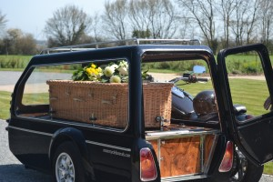 Motorcycle hearse 3