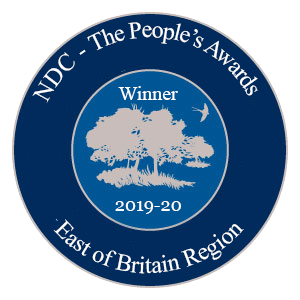 NDC East of Britain Region Winner Badge 2019-2020